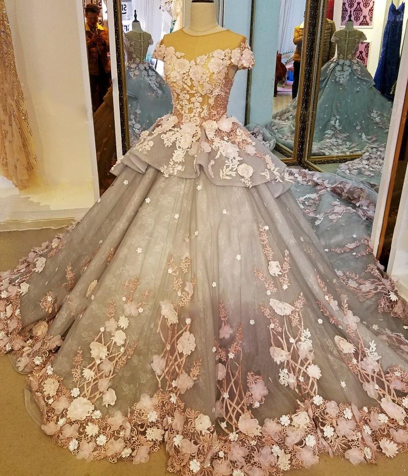 LS88349 gaun panjang untuk gaun pesta perkahwinan vestidos de festa - Gaun acara khas - Foto 2