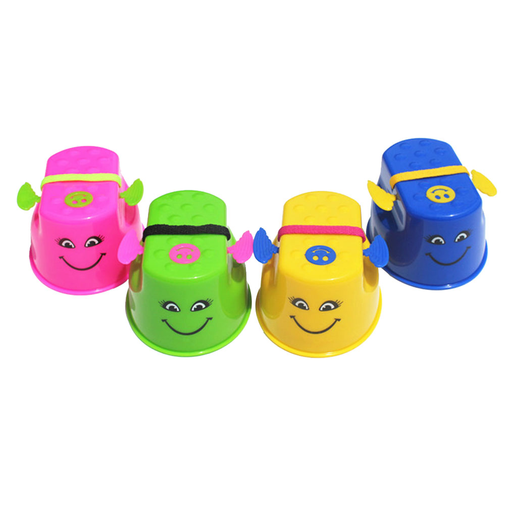 2PCS/Pair Walk Stilts Toys Kids Children Sports Funny Amusement Game Toys