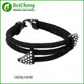 Best Friend Bracelet Fashion Style Popular Stingray Leather Bracelets Bangles for Men Women Girls Leather Bracelet With Crystal