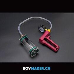 ROV uszczelniona komora Test szczelności powietrznej detektor pompy próżniowej podwodny Robot ręczny Tester uszczelnienia części do robota RC ROV Inteligentny pilot zdalnego sterowania    -