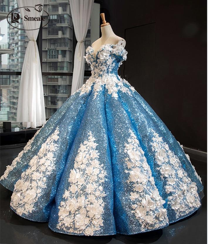 Image 5 - Ivory White Wedding Dress Lace Fabric, 3D Chiffon Flowers Nail  satin Bead High End European Lace Fabric Free Shipping RS583dress lace  fabricwedding dress lace fabriclace fabric