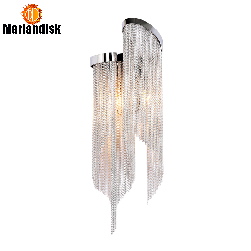 Modern Design Luxury Fashional Aluminum Wall LIghts With E14 Holders Modern Bedside Wall Lights For Bed