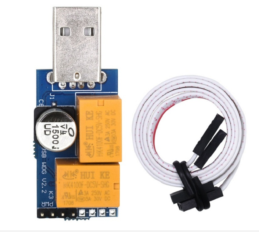 Set USB Watchdog Timer Card Module Automatic Restart IP Electronic Reboot for PC