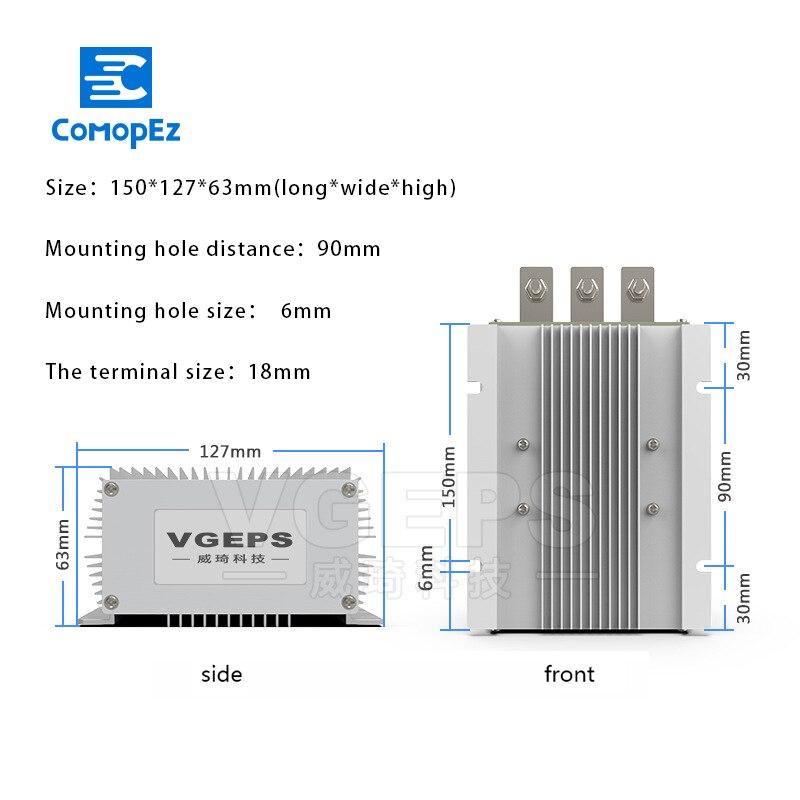 0213G006 AC DC KONVERTER 5 DEGC 50 DEGC 90 V 264 V + 5 V 6A + 12 V 37.5A AC für HUAWEI - 4