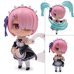 Image 4 - Re:Life In A Different World From Zero Rem Ram Action Figure PVC Toys Collection Model Doll For Friends Gifts 9.5cm