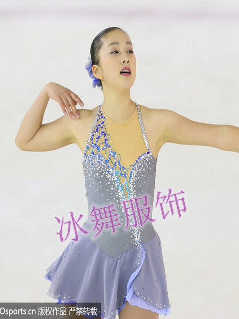 competition skating dresses for women hot sale custom figure skating dress for girls figure skating skirt free shipping