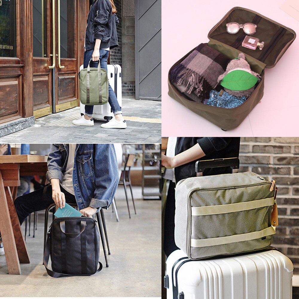 2018 Neue Reisetasche Mode Duffle Tasche Tragbare Reise Digitale Elektronische Zubehör Fall Ladegerät Kleidung Lagerung Luggagebag