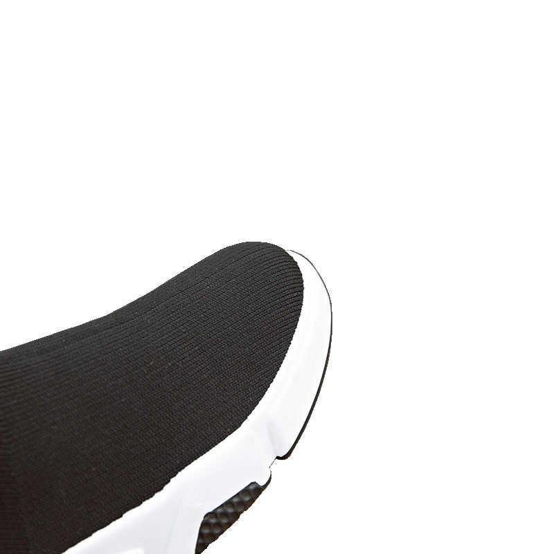 Aphixta ayakkabı kadın yüksekliği artan yarım çizmeler sivri burun kumaş Slip-On bayanlar Mujer bahar kar L moda kadın ayakkabı