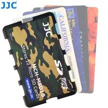 Jjc Memory Card Case Houders Handvat Opbergdoos Geheugenkaart Portemonnee Credit Card Size Voor Sd Sdhc Sdxc Micro Sd msd Tf Kaarten