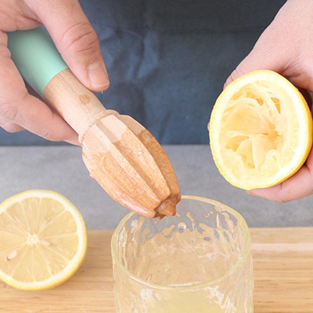Net Oranje Keuken Tool Citruspers Gadgets Gemakkelijk Te Gebruiken Houten Ruimer Fruit Juicer Multifunctionele Handleiding Bar Thuis Kegelvormige