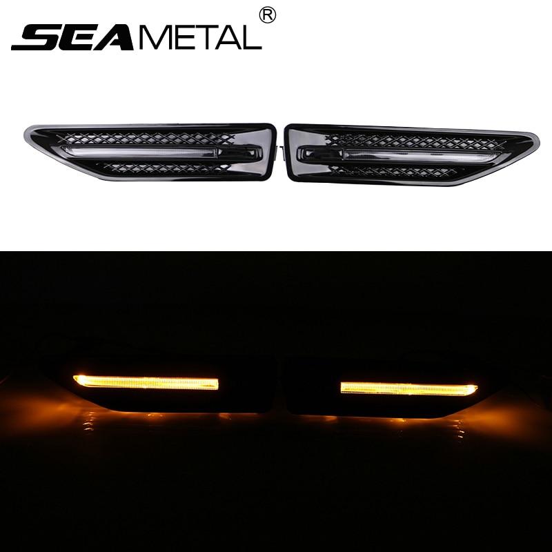 For KIA K2 RIO Sedan Hatchback 2012+ 2013 2014 2015 2016 Car Styling Luxury Turn Signal LED Fender Lamp Sidelight Side Lights
