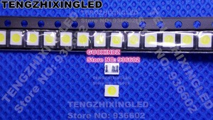 Image 2 - HONGLI TRONICคู่ชิปLED B Acklight 1210 3528 2835 1วัตต์3โวลต์100LMเย็นสีขาวไฟหลังจอLCDสำหรับทีวีทีวีแอพลิเคชัน