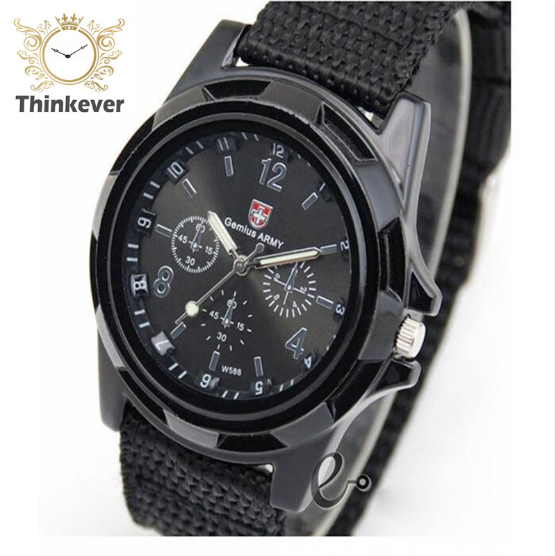 C0041 Famous Brand Men Outdoor Sport Quartz wristwatch Casual Fabric Watch Solider Military Army Watches Clock