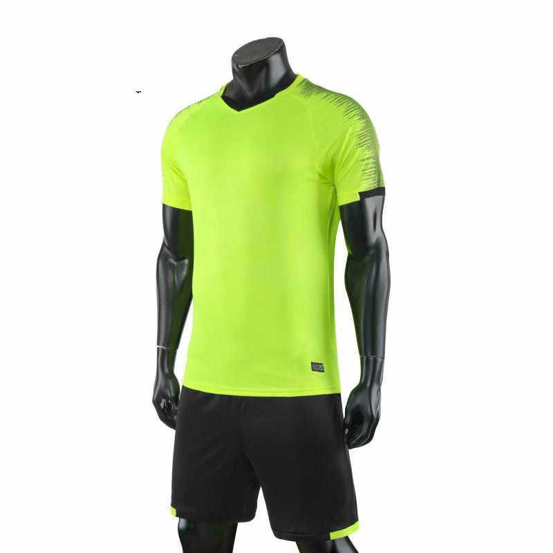 Детские футбольные комплекты, мужской футбольный костюм форменная одежда футбольные тренировочные рубашки короткий костюм для мальчиков, футболка с принтом «сделай сам»