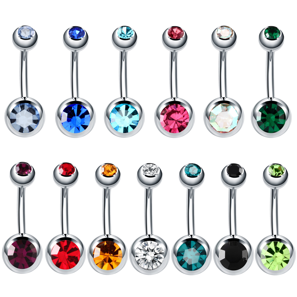 20Pcs//Set Curved Bar Barbell Ball Spike Acrylic Nose Rings Body Jewelry Pierc xc