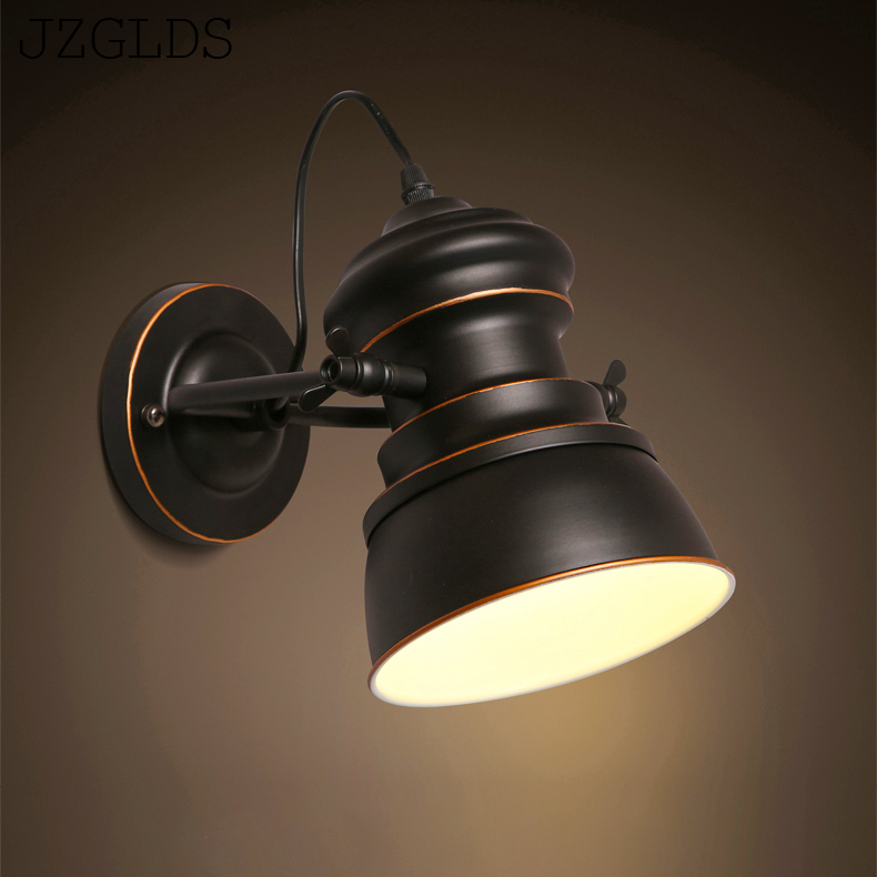 купить Loft lamps imitated water pipe E27 wall light lamp bedroom restaurant pub cafe bar corridor aisle light retro wall sconce bra по цене 4049.93 рублей