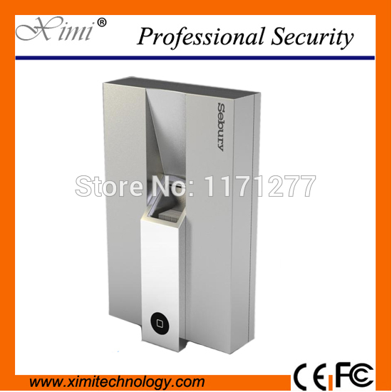 Metal Single Fingerprint Reader Access Control Without Software Optical Sensor With Keypad Fingerprint Access Control single access control 1000 user without software smart switch to open with keyboard 13 56mhz card reader f007b access controller