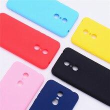 Couleur étui pour téléphone mat Pour Xiaomi Redmi 5/5 Plus Étui Souple En Silicone TPU Couverture Arrière Pour Xiaomi Redmi 5 Plus Étui Coque Funda