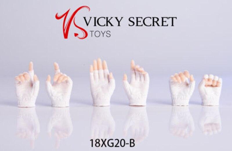 VStoys 18XG20 1//6 Gloves Hand 2.0 Gun Hand Model Fit PHICEN//TBleague Body
