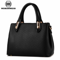 2016 New Arrival Brand Embossing Process Handbags For Women PU Leather Women Shoulder Bag Over Bag