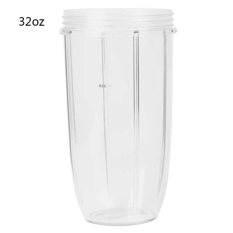 Juicer Cup Mug Clear Replacement For NutriBullet Nutri Bullet Juicer 32OZJuicer Cup Mug Clear Replacement For NutriBullet Nutri Bullet Juicer 32OZ