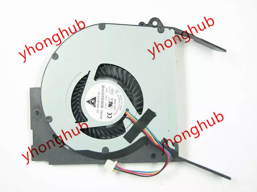 Delta BDB05405HHB AH51 DC 5V 0.36A 4-wire Server Laptop Fan цена 2017