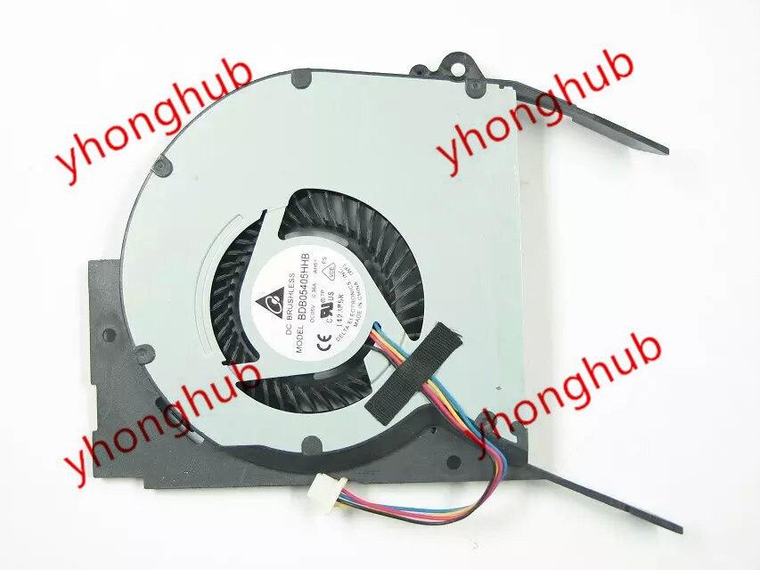 Delta BDB05405HHB AH51 DC 5V 0.36A 4-wire Server Laptop fan цена 2017
