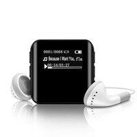 Original Mini MP3 Player 8GB Metal Fuselage Running Sports Walkman Lossless Recording Distance Usb Voice Recorder