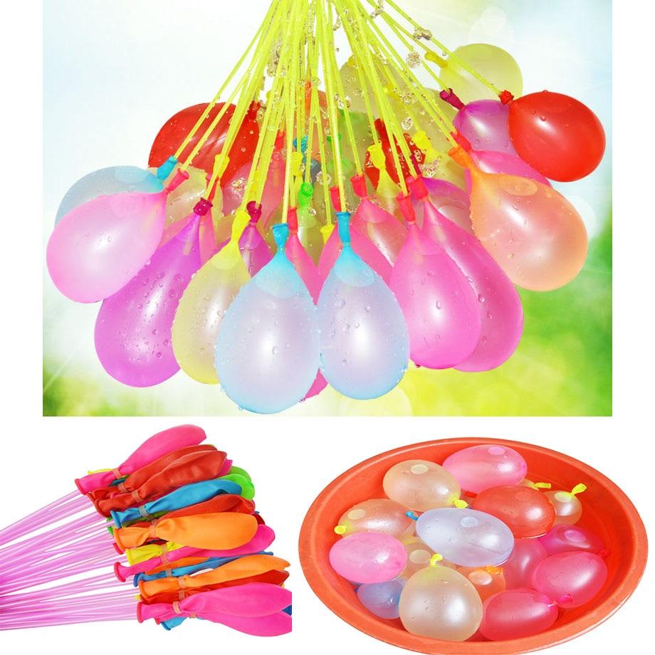111pcs Fast Water Balloon Bunch Children's Toys Magic Water Balloon Bombs Ball Bundle Summer Family Bachelor Party Supplies