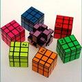Z-cube 3 X 3 X 3 Mirror Cube Puzzle pegatina elenco recubiertos cubo mágico Hot niños de los niños juguetes educativos