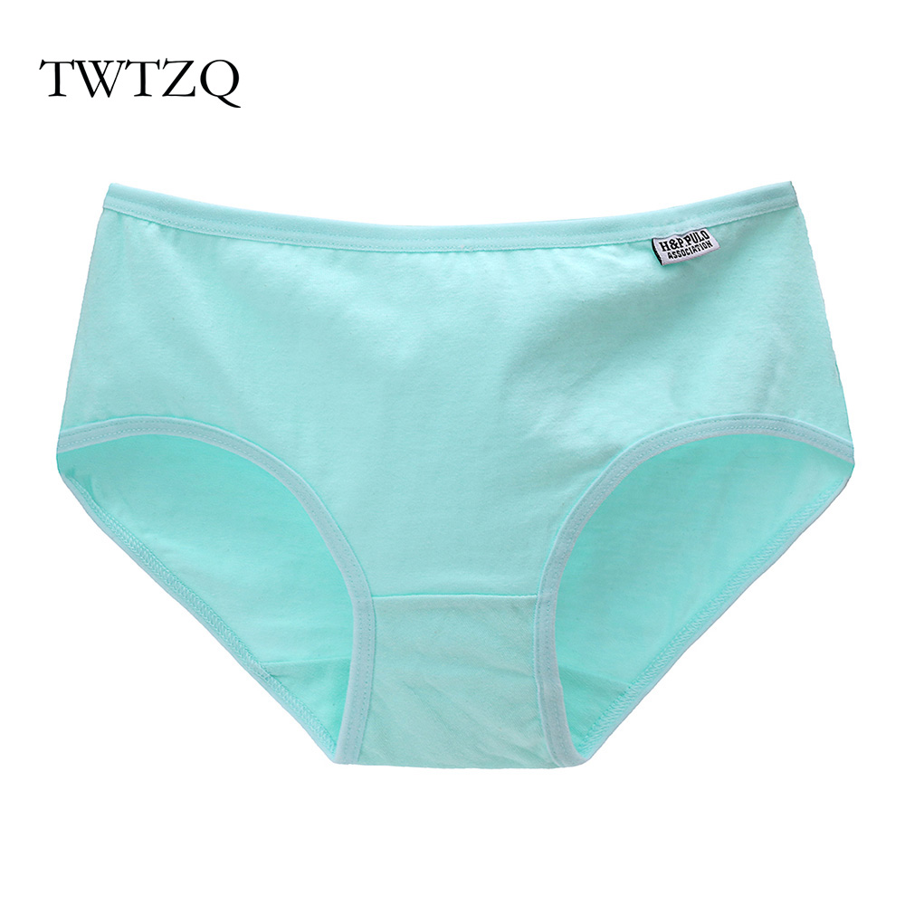 TWTZQ Hot Sexy Cotton Women   Panties   Candy Color Seamless Girls Briefs Solid Bragas Breathable Lingerie Women Underwear A3NK001