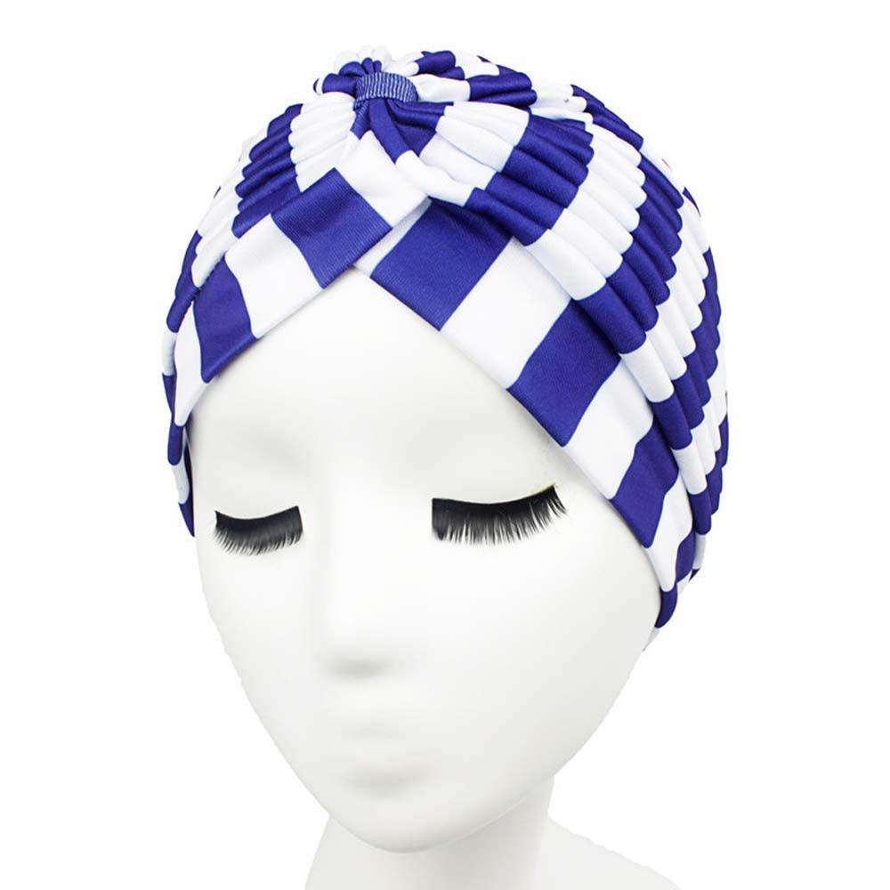 2d02b20aa4c 11Color Summer Bandanas Women Muslim Stretch Turban Headwear Lady Chemo  Hair Warp Beanie Headcover Hijib Headband Exercise Jun27-in Women s Hair  Accessories ...