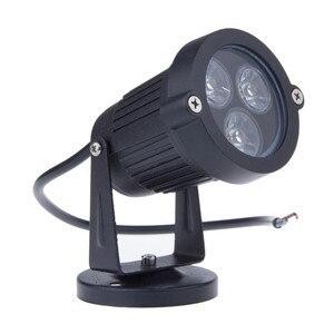 Image 3 - 9W עמיד למים ספייק נוף LED אור 12V 5X2W 220V נוף ספוט אור IP65 חיצוני נוף LED ספייק אור עבור גן