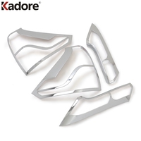 For Honda CRV CR V 2012 2013 2014 ABS Chrome Rear Taillight Tail lights lamp cover trim Auto Accessories 4pcs