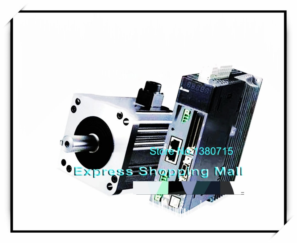 ECMA-C20807SS ASD-B2-0721-B 80mm 220v 750w 2.39NM 3000rpm 17bit brake AC servo motor&drive kit&cable asd b2 1021 b ecma c21010ss 100mm 220v 1kw 3 18nm 3000rpm 17bit delta brake ac servo motor