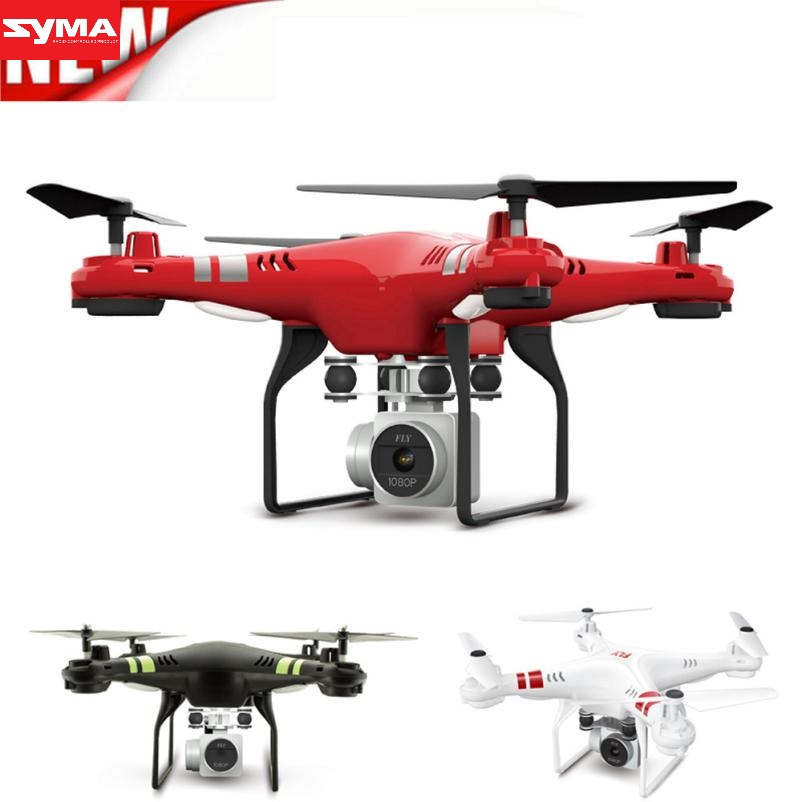 SYMA Quadcopter haute tech nouveau 2.4G Altitude HD Caméra RC Drone 2MP WiFi FPV En Direct Hover Hélicoptère quadcopter drone dec29