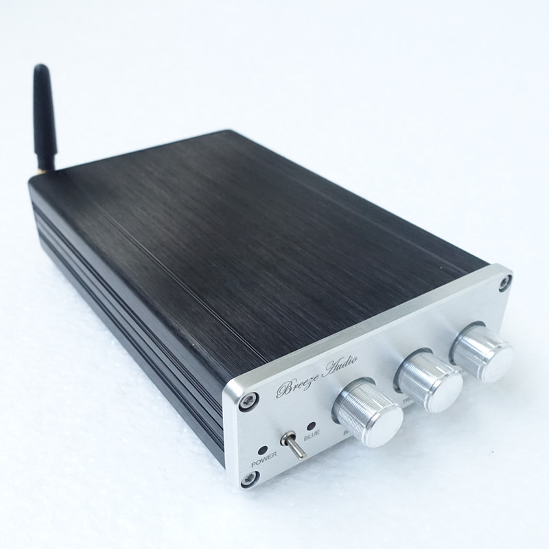 Breeze audio//weiliang audio BA10c TPA5613 2.1 Channel subwoofer with Bluetooth home power amplifier weiliang audio