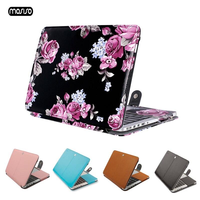 """MOSISO Laptop Sleeve для MacBook Pro 13 дюймов retina 13 Модель A1502 A1425 из искусственной кожи чехол для Mac Pro 13,3 """"ноутбук сумка новые-in Сумки и чехлы для ноутбука from Компьютер и офис"""