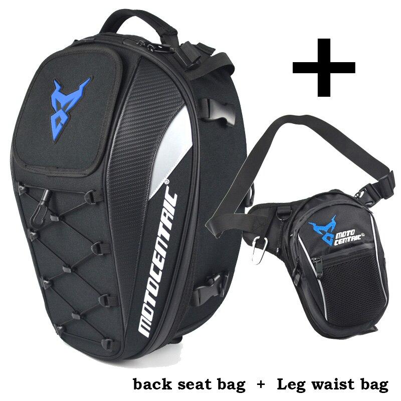 Bolsas de asiento trasero para motocicleta, bolsa para pierna y cintura, bolsa de motocicleta, para correr, deporte, equipaje, escalada, pesca, ciclismo