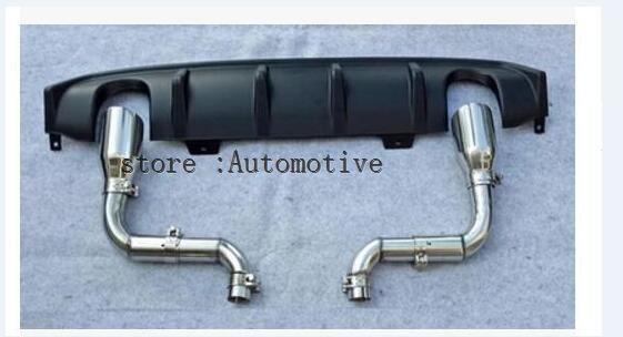 Sport Style Car Rear Bumper Diffuser Spoiler Upgrade Replacement