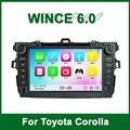 Автомобильный DVD Video GPS Плеер для Toyota Corolla 2006 2007 2008 2009 2010 2011 с Радио Bluetooth поддержка Wi-Fi 3 Г Ipod