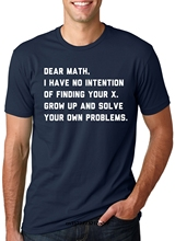 21f6a9fa7 Men t shirt Solve Your Own Problems Math Teacher Science Engineer School Tee  fortnite t-