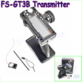 1pcs Original Flysky FS-GT3B FS GT3B 2.4G 3CH Gun RC System Transmitter with Receiver For RC Car Boat with LED Screen Dropship