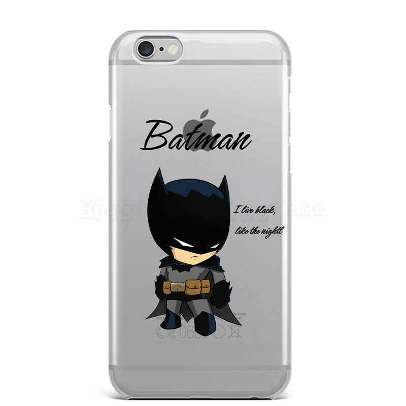 DC Comics Marvel Homem De Ferro Homem-Aranha joker Batman silicone suave Caso capa para o iphone 7 6 S 8 plus 5S SE X Casos de telefone MAX XR XS