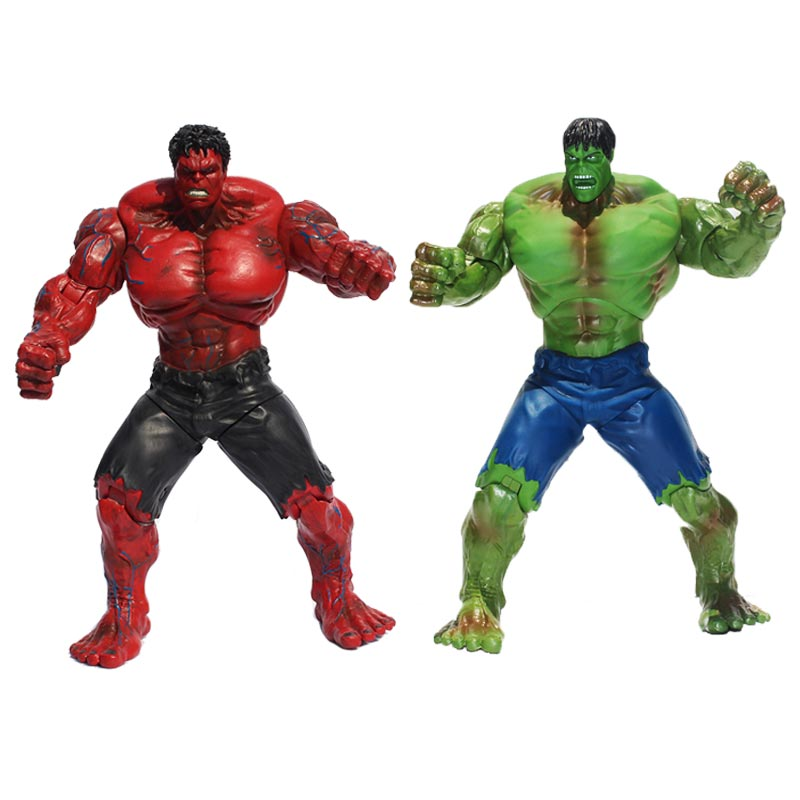 2styles Avengers Hulk Action Figure Super Hero Red Hulk Movable Hulk PVC Figure Collectible Model Toys Gift For Kids 26cm2styles Avengers Hulk Action Figure Super Hero Red Hulk Movable Hulk PVC Figure Collectible Model Toys Gift For Kids 26cm