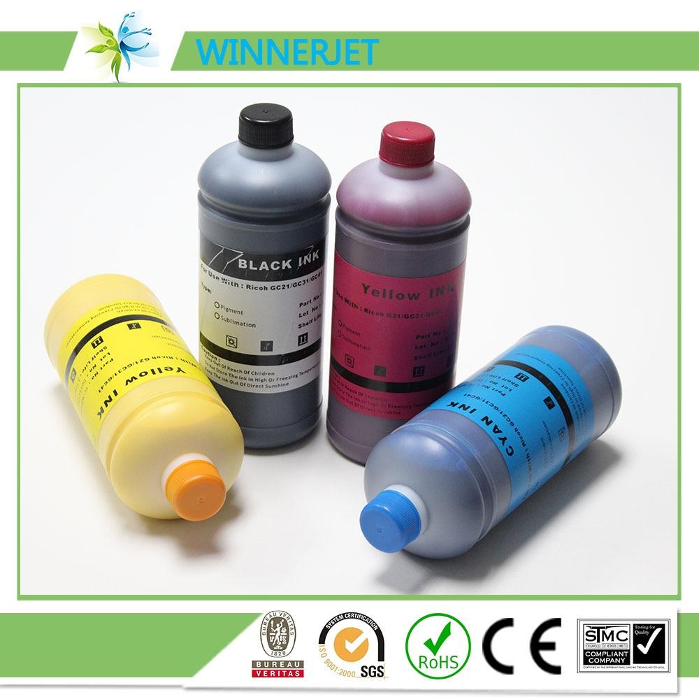 Winnerjet Inkjet Cartridge GC41 refill ink cartridge pigment gel ink for Aficio SG 3110DN SG3110DN printer in Ink Cartridges from Computer Office