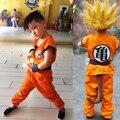 Kids Mens Children's Anime Dragon Ball Z Monkey Cosplay Costumes Boys Son Goku Costume Kids Halloween Japanese Costume For KIDs