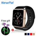 Gt08 smartwatch bluetooth pantalla hd de 1.54 pulgadas lcd portátil detective android reloj inteligente smart watch