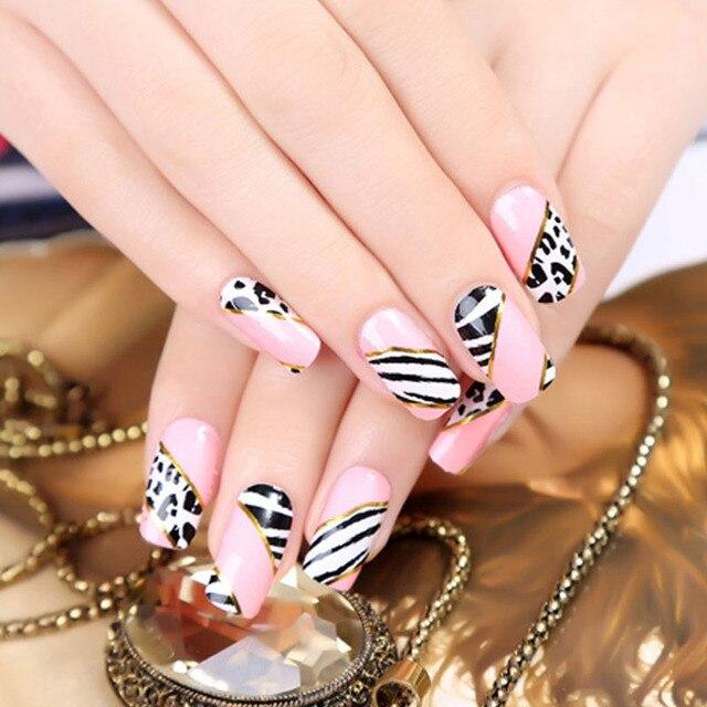Crystal nail stickers nail design gel nail polish pretend drilling ...