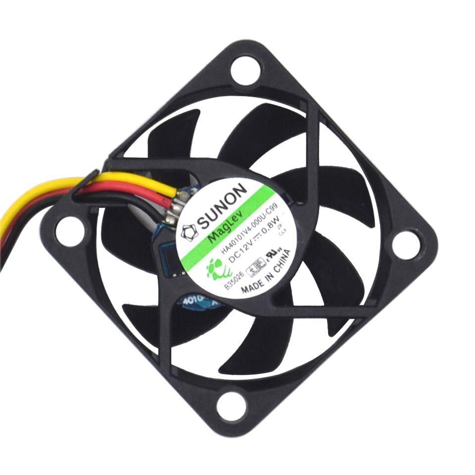 HA40101V4-0000-c99 4010 40MM 4CM 40*40*10 Cooling Fan 12V 0.8W 0.06A 3pin  100pcs/lot